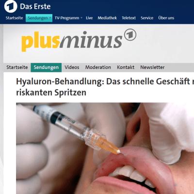 Hyaluron-Behandlung -das erste-de-min daserste.de/