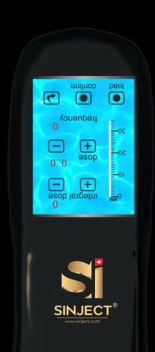 SInject Pro Nadelfreies Applikationssystem - Hyaluron Pen - hinten